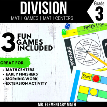 3rd Grade Division Games and Centers
