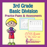3rd Grade Division Fluency & Review Packet   Digital Activity