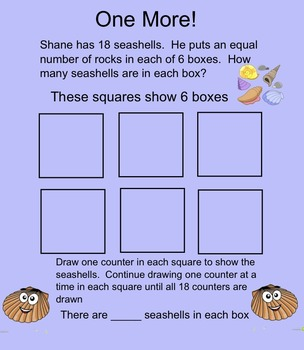 3rd Grade Division-Size of Equal Groups Smartboard Activity