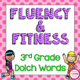 3rd Grade Dolch Words Fluency & Fitness Brain Breaks Bundle
