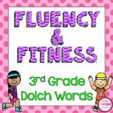 3rd Grade Dolch Words Fluency & Fitness Brain Breaks