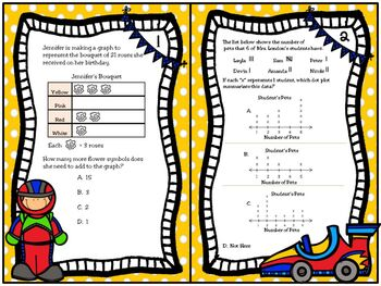Dot Plots, Frequency Tables, Bar Graphs and Pictographs: TRS Unit 4; TEKS 3.8A