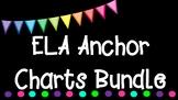 3rd Grade ELA Anchor Charts Graphic Organizers Bundle