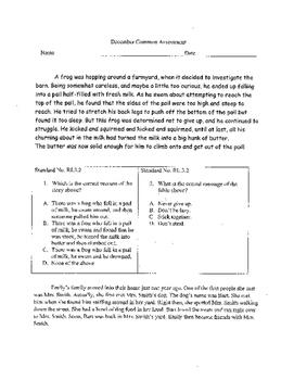 3rd Grade ELA Assessment