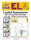 3rd Grade ELA Assessment for RL Reading Literature with Proficiency Scales