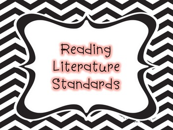 3rd Grade Reading CCSS I Can Statements