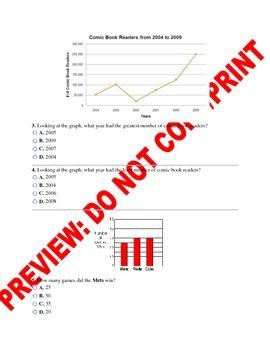 3rd Grade ELA CCSS Text Feature Assessment