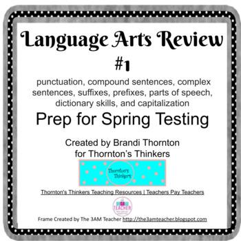 3rd Grade ELA CRCT Review #1