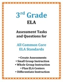 3rd Grade ELA Common Core Assessment Tasks and Questions