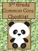 3rd Grade ELA Common Core Checklist - Lesson Planning Form - Jungle