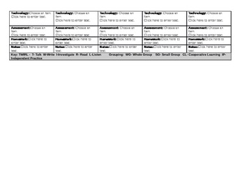 3rd Grade ELA Common Core Lesson Plan