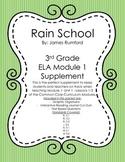 3rd Grade ELA Common Core Module 1 Unit 1 Rain School Supplement