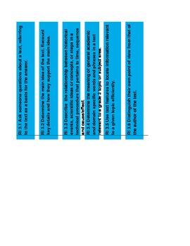 3rd Grade ELA Common Core Standards Grade Book