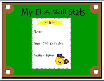 3rd Grade ELA Common Core: Student Data Tracking Binder (All Standards)