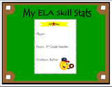 3rd Grade ELA Common Core: Student Data Tracking Binder (A