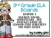 3rd Grade ELA Concept Boards: Growing Bundle!