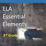 3rd Grade ELA Essential Elements for Cognitive Disabilities: Data Collection