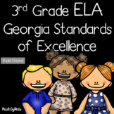 3rd Grade ELA GSE Georgia Standards of Excellence Posters