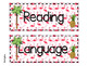 3rd Grade ELA GSE Georgia Standards of Excellence Posters -Tropical and Flamingo
