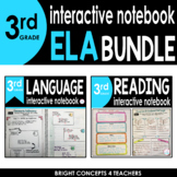 3rd Grade ELA Interactive Notebook BUNDLE