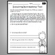 3rd Grade ELA Language Arts Printables - Informational Text  Common Core Aligned