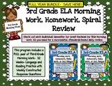 3rd Grade ELA MORNING WORK FULL YEAR BUNDLE!  3rd Grade ELA Daily Practice