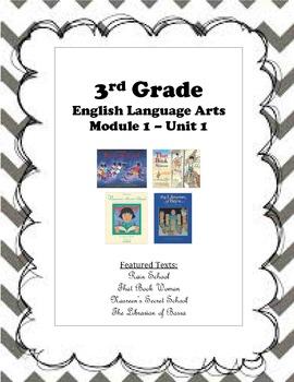 3rd Gr. ELA Mod 1 - Rain School, That Book Woman, Nasreen's Secret School
