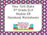3rd Grade ELA Module 2B Notebook Worksheets