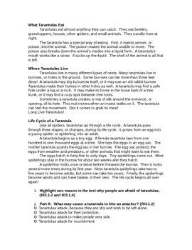 3rd Grade ELA PARCC Like Assessment