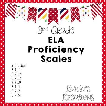 3rd Grade ELA Proficiency Scales