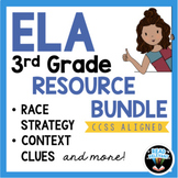 Distance Learning 3rd Grade ELA Reading and Writing Bundle Independent Work