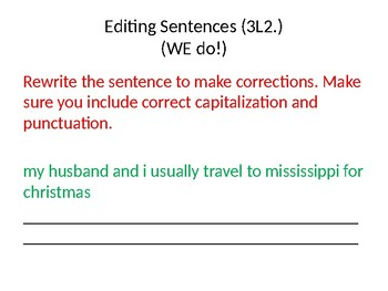 3rd Grade ELA Review-1st Half of Year