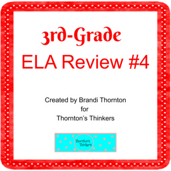 3rd Grade ELA Review for CRCT