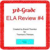 3rd Grade ELA Review for CRCT