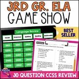 3rd Grade ELA Test Prep Game Show & Practice Review Test FSA AIR