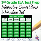 3rd Grade ELA Test Prep Game Show & Practice Review Test FSA AIR