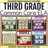 3rd Grade ELA Year-Long Bundle Curriculum-  ELA Common Cor