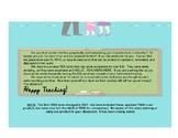 3rd Grade ELA and Social Studies TEK Cards