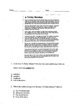 3rd Grade ELA assessment #3