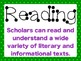 """3rd Grade ELAR TEKS """"I can"""" Statement Posters for Reading"""
