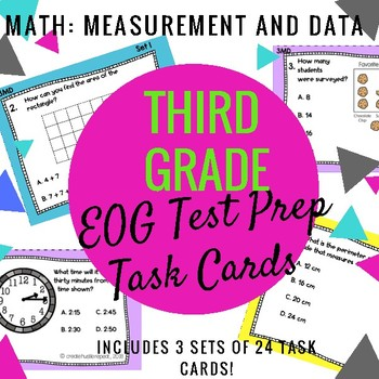 3rd Grade EOG Math Practice: Measurement and Data