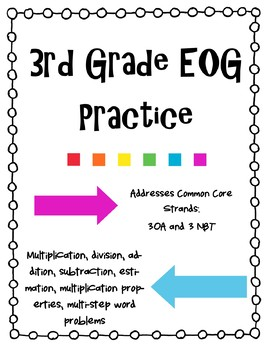 3rd Grade EOG Test Prep Review-3OA and 3NBT