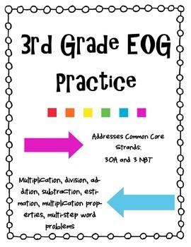 3rd Grade EOG Review-3OA and 3NBT