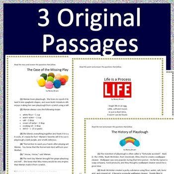 image regarding Printable 3rd Grade Eog Reading Practice Test named 3rd Quality NC EOG Attempt Prep Looking at Train Print + Self-Grading #3 NC Prepared EOG