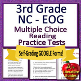 NC EOG Test Prep 3rd Grade NC Reading EOG Practice Tests North Carolina