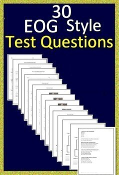 NC EOG Test Prep 3rd Grade NC Reading EOG Practice Tests North Carolina