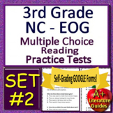 3rd Grade EOG Test Prep NC READY ELA Reading Practice Tests