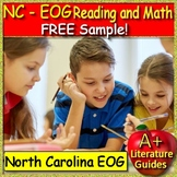 NC EOG Reading and Math Sample Freebie: Passages, Questions, Math Problems