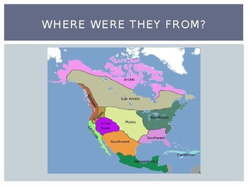 3rd Grade Early American Indian Cultures PowerPoint