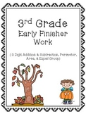 3rd Grade Early Finisher
